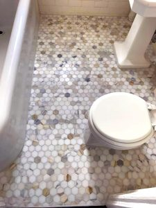Bathroom Floor Renovation