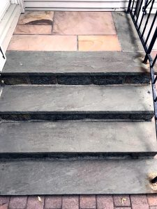 Stone Steps Restoration & Cleaning