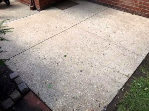 Concrete Patio Cleaning & Restoration